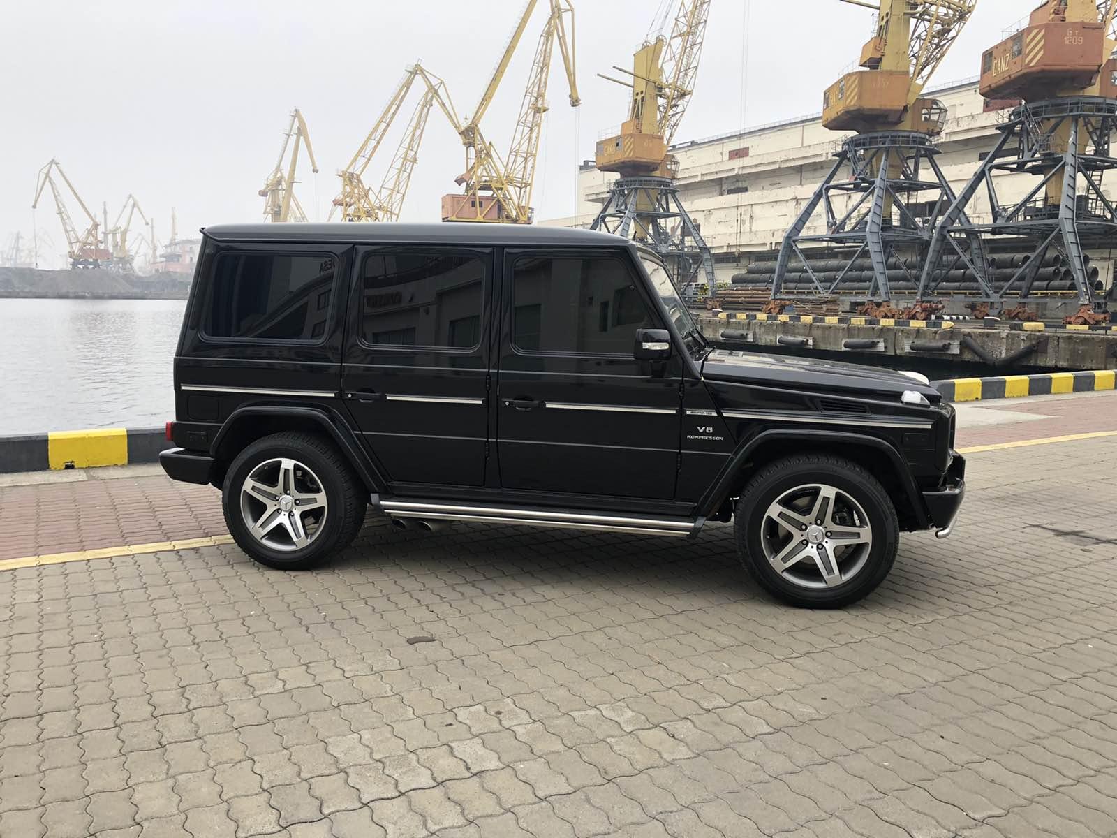 rent mercedes g55 in odessa ukraine